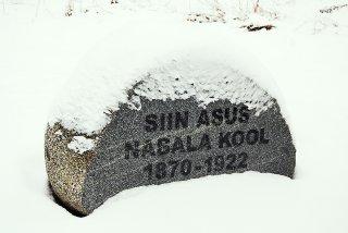 Nabala kooli mälestuskivi